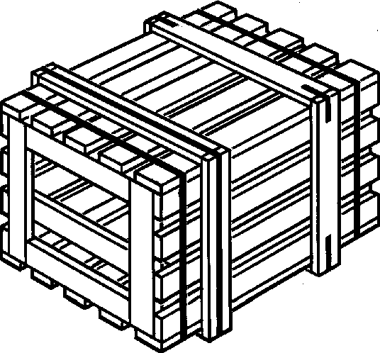 Ящик VI-2 для грузов до 500 кг ГОСТ 2991-85
