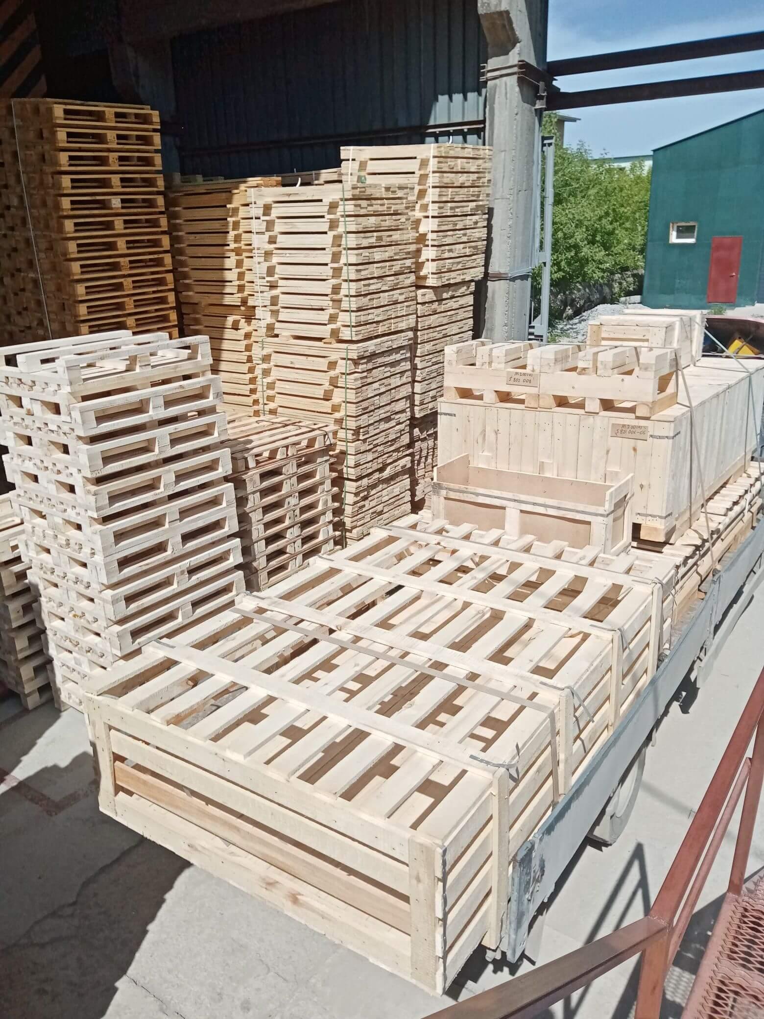 Ящик I-2 до 1000 кг ГОСТ 10198-91