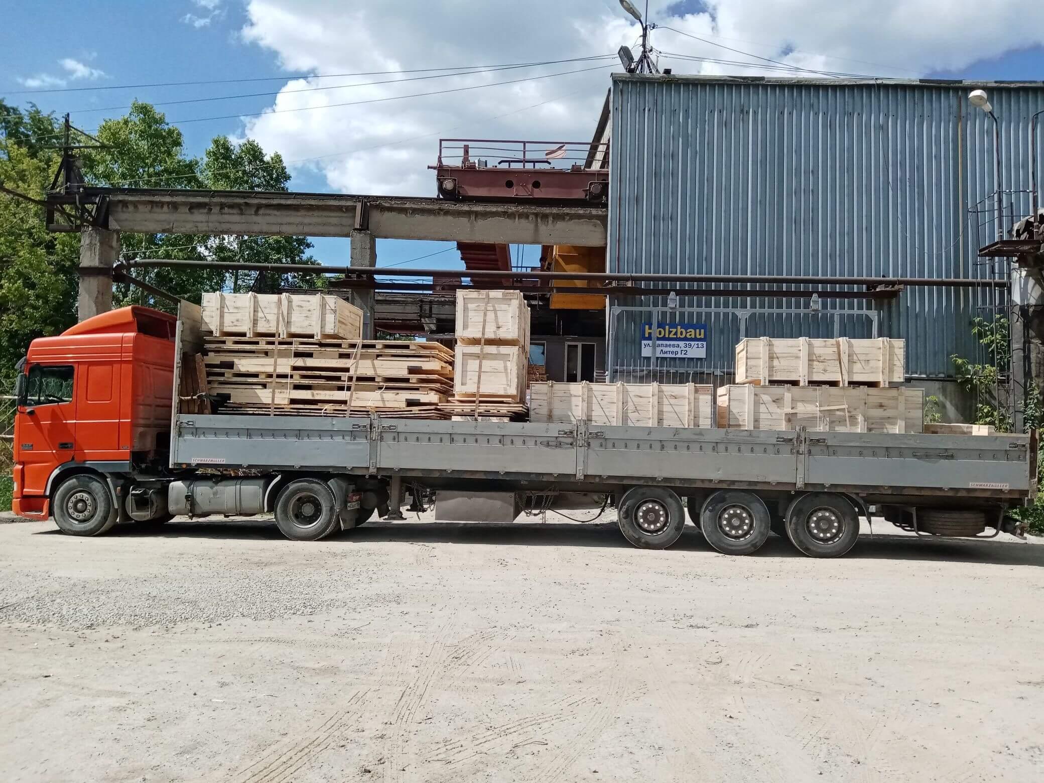 Ящик для грузов массой до 5000 кг V-1 ГОСТ 10198-91