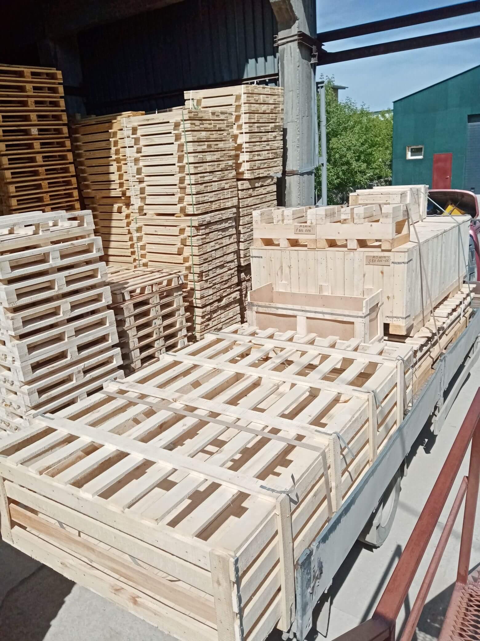 Ящик для грузов массой до 5000 кг V-2 ГОСТ 10198-91