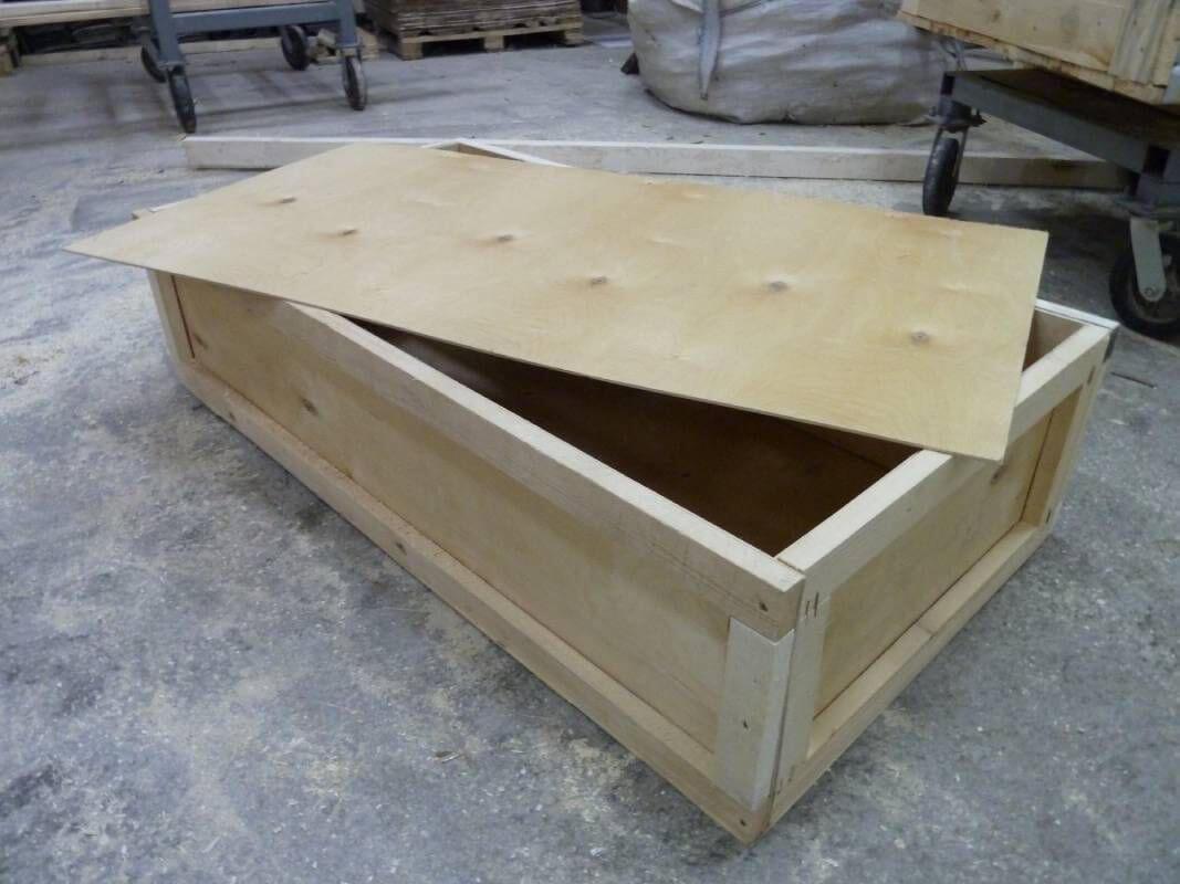 Ящик для грузов массой до 20000 кг VIII-3 ГОСТ 10198-91