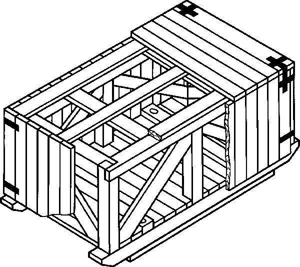 Ящик для грузов до 20000 кг IV-1 ГОСТ 10198-91
