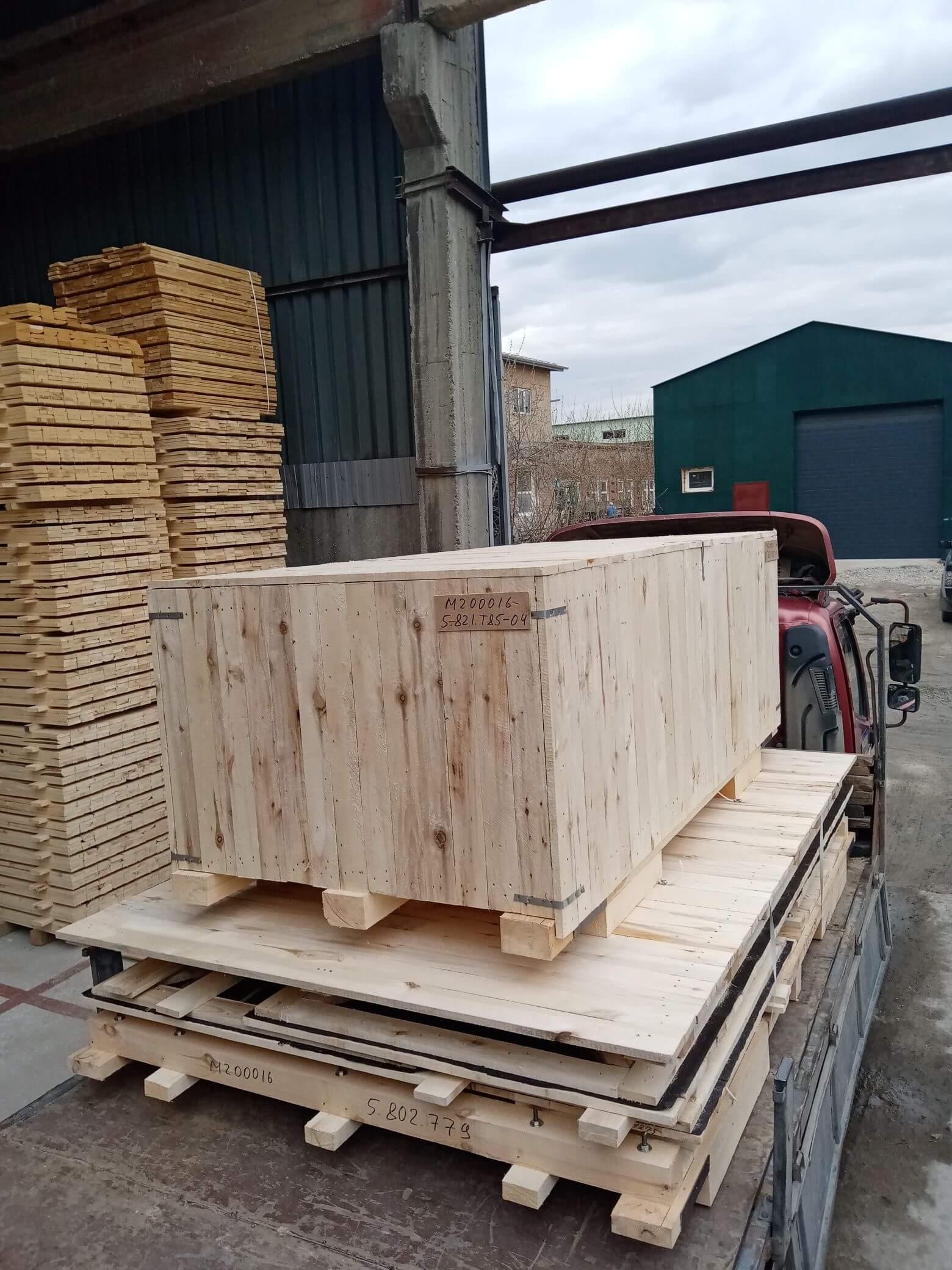 Ящик из фанеры тип III до 35 кг ГОСТ 5959-80