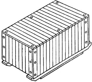 Ящик для грузов до 20000 кг ГОСТ IV-2 10198-91