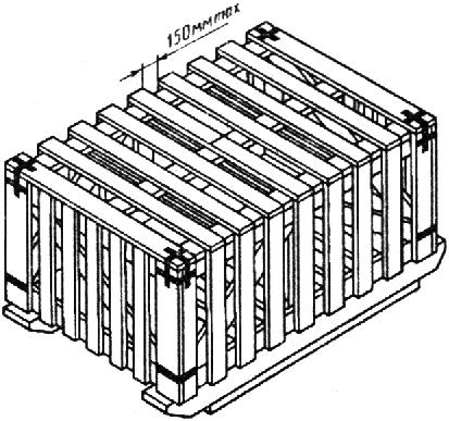 Ящик для грузов до 20000 кг II-2 ГОСТ 10198-91