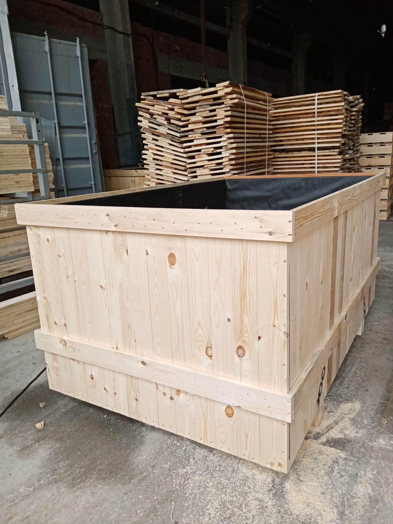 Ящик III-2 для грузов до 500 кг ГОСТ 2991-85