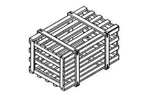 Обрешётки III для груза до 500 кг ГОСТ 12082-82