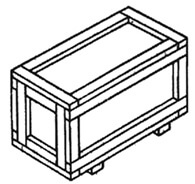 Ящик массой до 300 кг VI-1 ГОСТ 10198-91