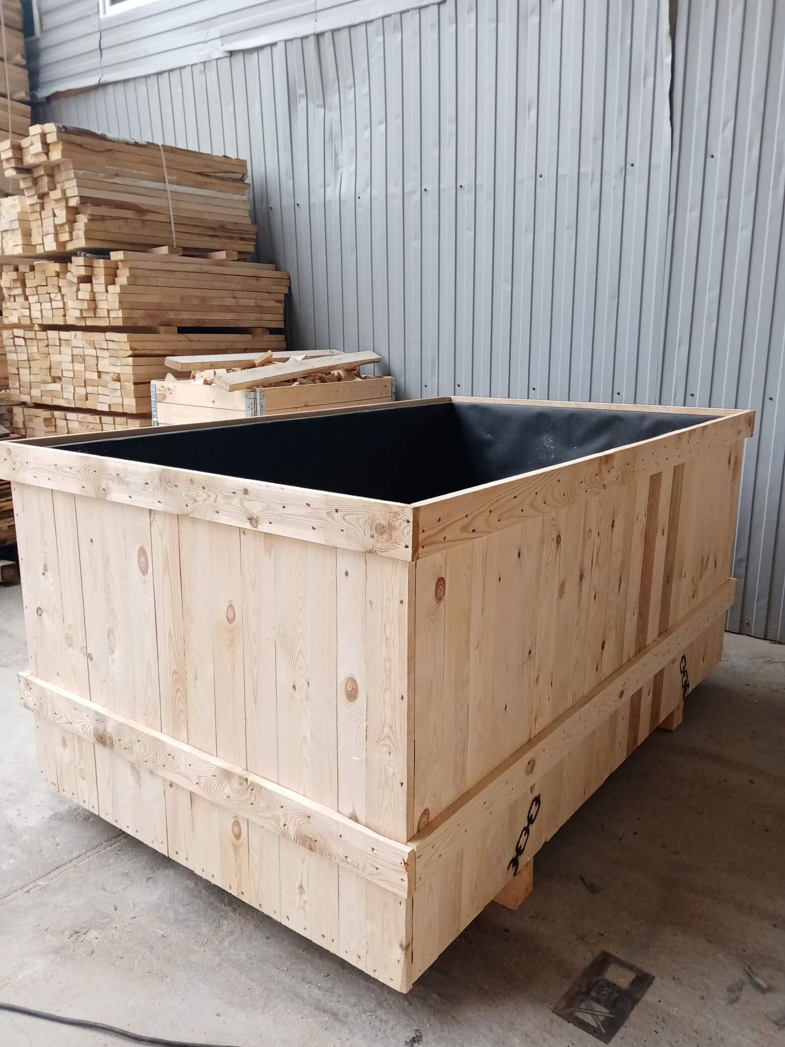 Ящик V-2 для грузов до 55 кг ГОСТ 2991-85