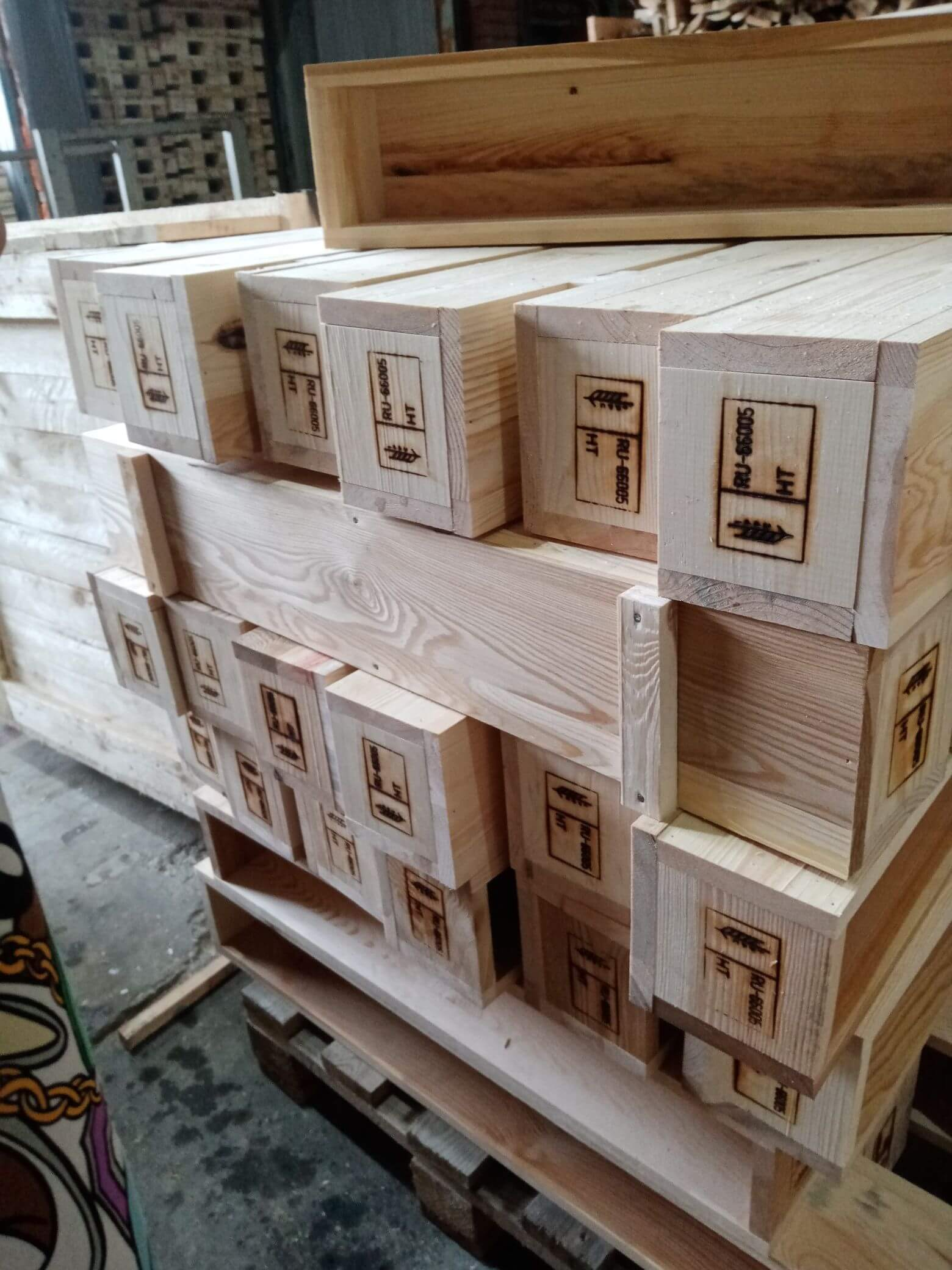 Ящик для грузов до 500 кг тип VI-3 ГОСТ 10198-91