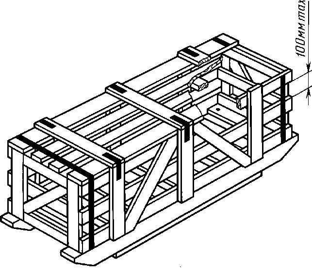 Ящик для грузов до 20000 кг I-4 ГОСТ 10198-91