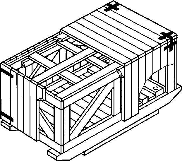 Ящик для грузов до 20000 кг II-1 ГОСТ 10198-91