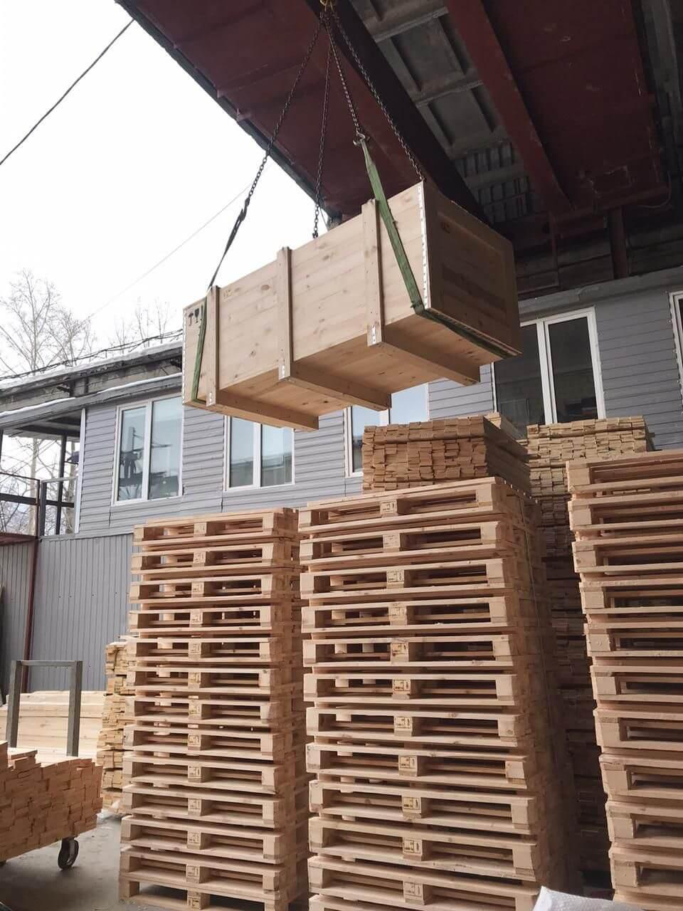 Ящик для грузов до 110 кг ГОСТ 2991-85