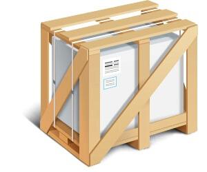 Жесткая упаковка для транспортировки грузов