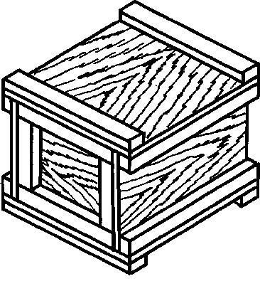 Ящик из фанеры тип IV до 35 кг ГОСТ 5959-80