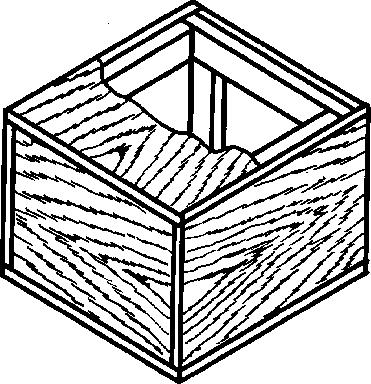 Ящик из фанеры тип II-2 до 25 кг ГОСТ 5959-80