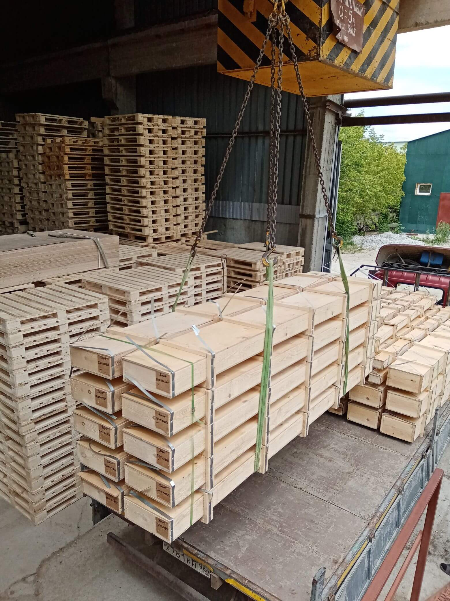 Ящик из фанеры тип II-1 до 25 кг ГОСТ 5959-80