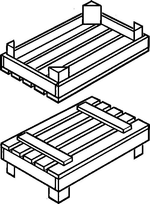 Ящик IV-2 до 15 кг ГОСТ 2991-85