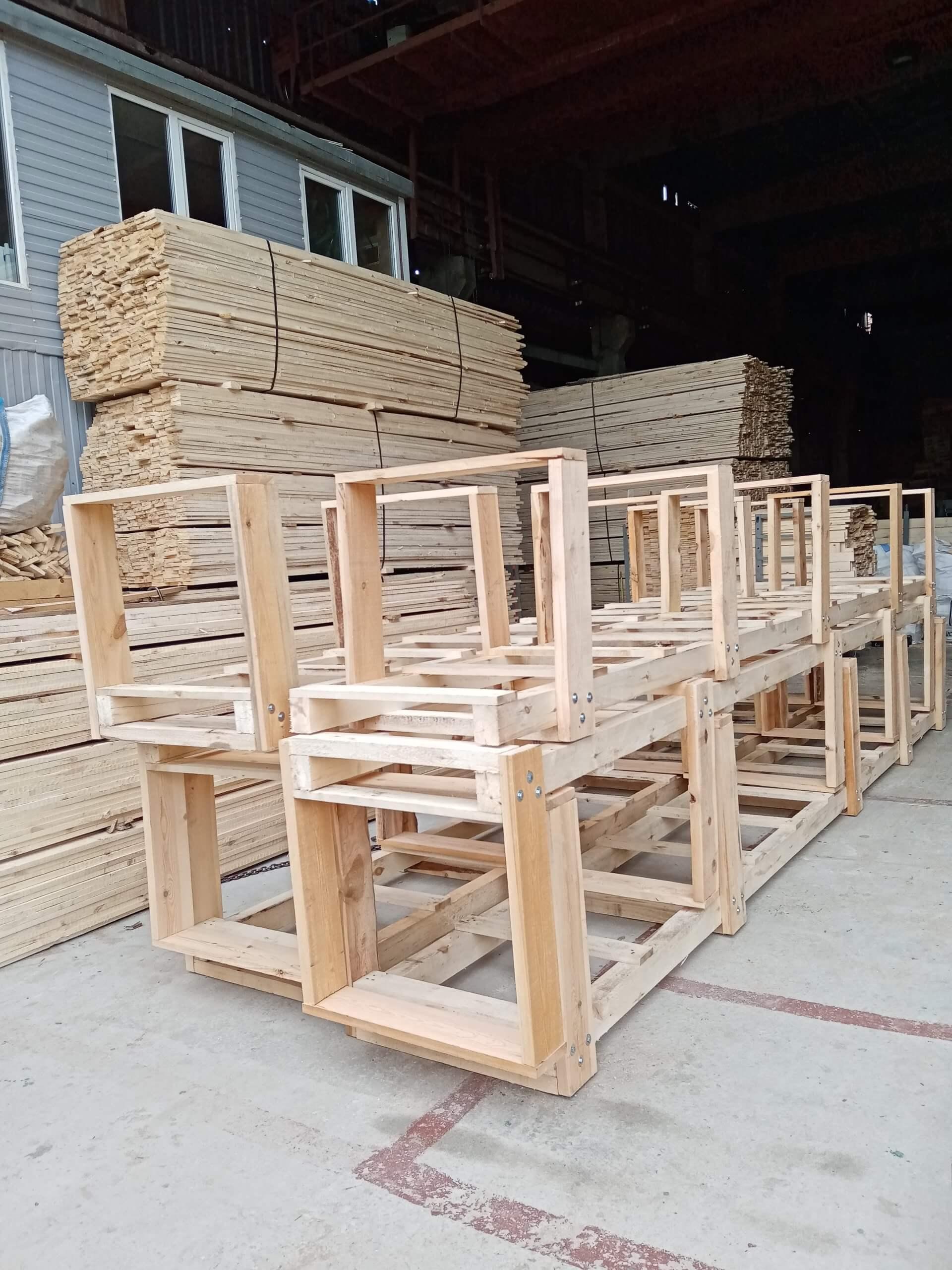 Обрешётки I-1 до 100 кг ГОСТ 12082-82