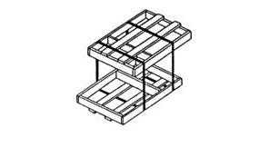 Обрешётки IV для грузов до 50 кг ГОСТ 12082-82