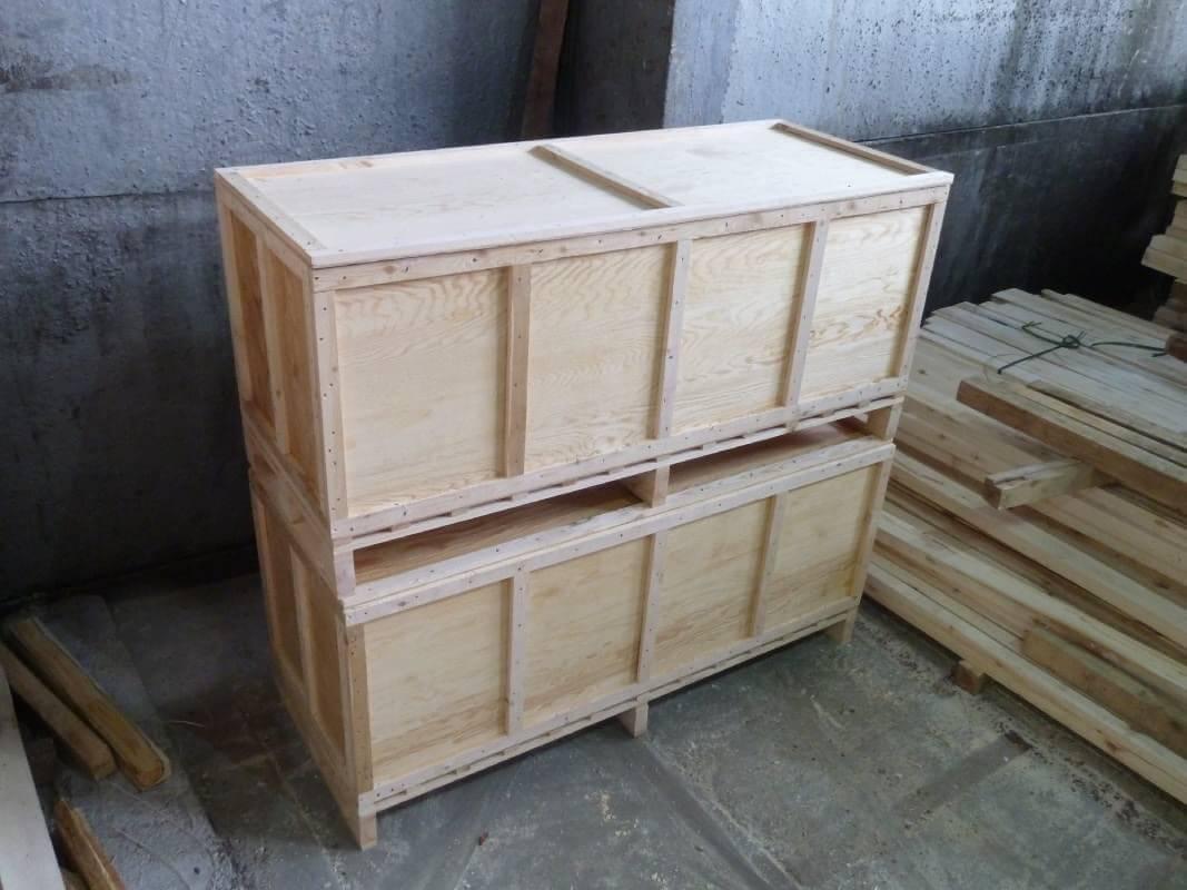 Ящик для грузов до 20000 кг III-1 ГОСТ 10198-91