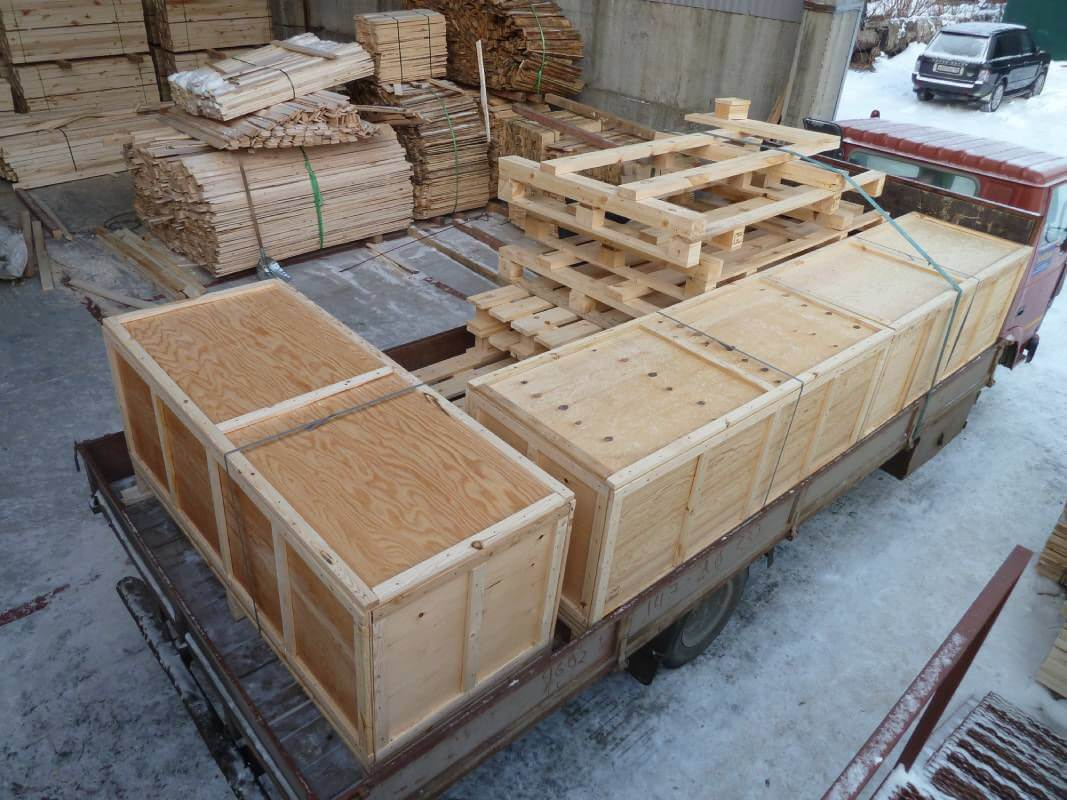 Ящик для грузов до 200 кг ГОСТ 2991-85