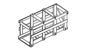 Обрешётки II-5 для грузов до 200 кг ГОСТ 12082-82