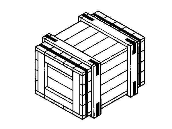 Ящик для грузов массой до 1000 кг I-1 ГОСТ 10198-91