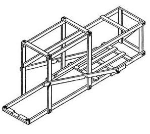Обрешётки II-6 до 125 кг ГОСТ 12082-82